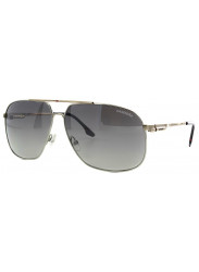 Carrera Unisex Aviator Full Rim Gold Tone Grey Sunglasses CARRERA 59 83K/IC