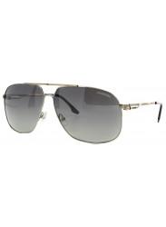 Carrera Unisex Aviator Full Rim Gold Tone Grey Sunglasses CARRERA 59 83K/IC