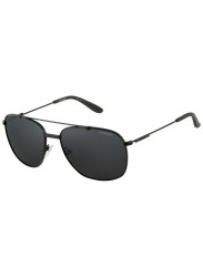 Carrera Unisex Aviator Full Rim Black Sunglasses CARRERA 68 003/C3