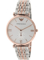 Emporio Armani AR1677 Women's Retro Silver Stainless-Steel Quartz Watch