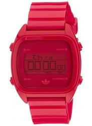 Adidas Men's Sydney ADH2729 Red Plastic Quartz Watch with Digital Dial