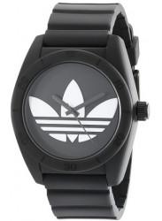Adidas Men's Santiago Black Silicone Watch ADH6167