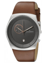 Skagen Men's Havene Leather Quartz Watch