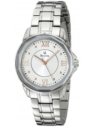Bulova Women's Silver Dial Stainless Steel Watch 96L172