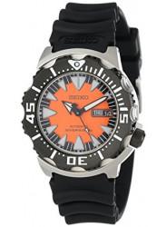 Seiko Men's Divers Automatic Orange Dial Watch SRP315