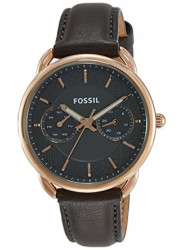 Fossil Women's Tailor Grey Leather Watch ES3913