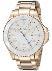 Marc by Marc Jacobs Original MBM3409 Women's Dizz Sport Rose Gold Steel Watch