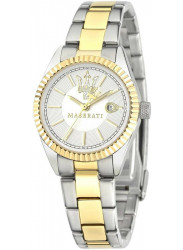 Maserati Women's Silver Dial Two Tone Stainless Steel Watch R8853100505