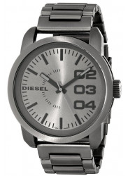 Diesel Men's Grey Dial Stainless Steel Watch DZ1558