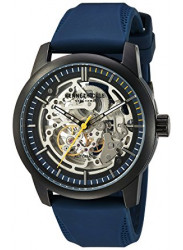 Kenneth Cole Men's New York Automatic Skeleton Dial Blue Silicone Strap 10030791
