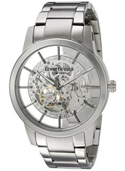 Kenneth Cole Men's Automatic Silver Tone Watch 10031273