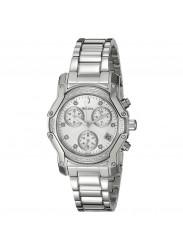 Bulova Women's Diamond Dial Watch Silver 98R138