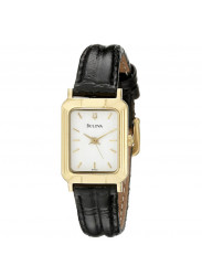 Bulova Women's 97T43 Leather Watch