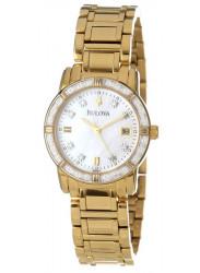 Bulova 98R165 Women's Watch with Diamonds Case Set