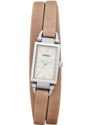 Fossil Women's Delaney Sand Leather Watch JR1370