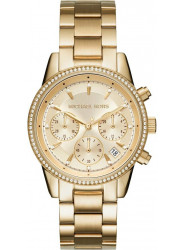 Michael Kors Women's Ritz Gold Dial Watch MK6356