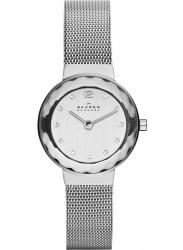Skagen Women's Silver Dial Mesh Watch 456SSS