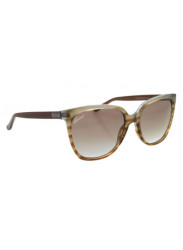 Gucci Women's Cat Eye Full Rim Brown Azure Havana Sunglasses GG 3502/S R4E/NE