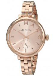 Marc by Marc Jacobs Women's Sally Rose Dial Rose Gold Tone Stainless Steel Watch MBM3364