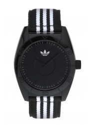 Adidas Unisex Santiago Black Dial Two Tone Watch ADH2659