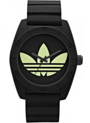 Adidas Unisex Black Rubber Watch ADH2853