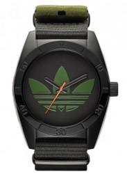 Adidas Men's Santiago Black Polyester Strap Watch ADH2875
