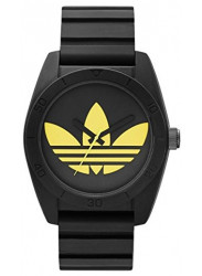 Adidas Men's Santiago Black Silicone Watch ADH2879