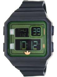 Adidas Men's Santiago  Digital Dial Black Silicone Watch ADH2883
