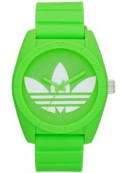 Adidas Unisex Santiago Green Rubber Watch ADH6172