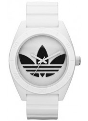 Adidas Men's Santiago White Rubber Watch ADH2823
