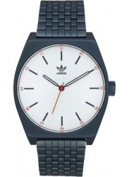 Adidas Men's Process M1 Silver Dial Navy Stainless Steel Watch Z02 3032-00