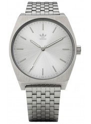 Adidas Men's Process M1 Silver Dial Stainless Steel Watch Z02 1920-00