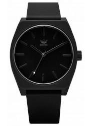 Adidas Men's Process SP1 Black Dial Black Rubber Watch Z10 001-00