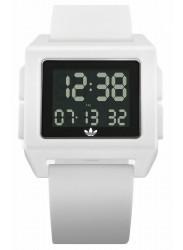 Adidas Men's Archive SP1 Digital White Rubber Watch Z15 100-00