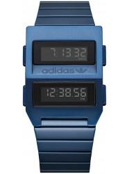 Adidas Men's Archive M3 Digital Dark Blue Stainless Steel Watch Z20 605-00