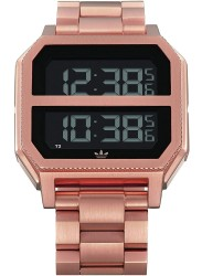 Adidas Men's Archive MR2 Digital Rose Gold Stainless Steel Watch Z21 897-00