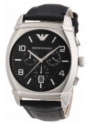 Emporio Armani Men's Black Chronograph Watch AR0347