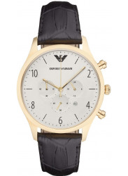 Emporio Armani Men's Chronograph White Dial Watch AR1892