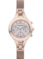 Emporio Armani Women's Classic Chronograph Gold Tone Watch AR7391