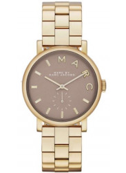 Marc by Marc Jacobs Women's Grey Dial Gold Tone Watch MBM3281