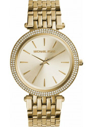 Michael Kors Women's Darci Gold Tone Crystals Watch MK3191