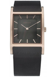 Bering Women's Classic Brown Dial Brown Stainless Steel Mesh Watch 10426-265-S