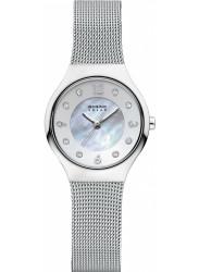 Bering Women's Solar Mother Of Pearl Dial Watch 14427‐004
