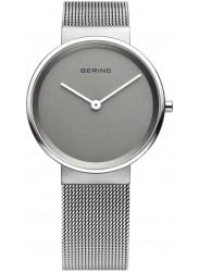 Bering Men's Classic Grey Dial Stainless Steel Mesh Watch 14539-077
