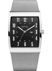 Bering Men's Solar Black Dial Stainless Steel Watch 16433-002