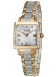 Bulova Accutron Women's Masella Diamond Two Tone Watch 65R141