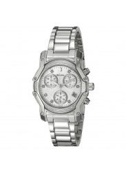 Bulova Women's Diamond Dial Watch Silver 98R138