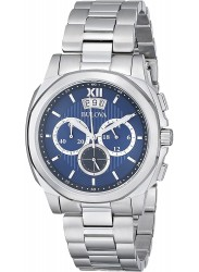 Bulova Men's Classic Chronograph Stainless Steel Watch 96B219
