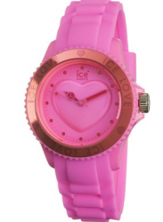 Ice Watch Unisex Ice Love Pink Dial Pink Silicone Watch LO.PK.U.S.10