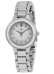 DKNY Women's Chambers Silver Dial Watch NY2391